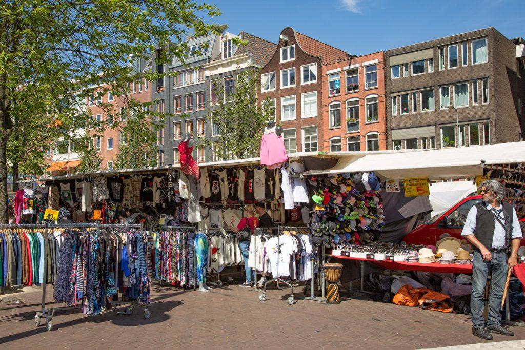 markt in Amsterdam